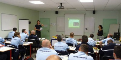 21.09.2010 Training of the French gendarmes