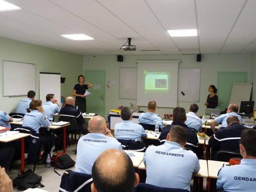 training_french_gendarmes