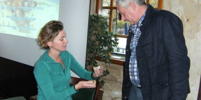 23.10.2010 Eyes on Animals gives an animal-welfare workshop to livestock drivers from the Dutch company Sleegers