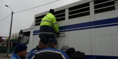 01.12.2010 Theoretisches und praktisches Training französischer Gendarmen, Polizisten und Amtsveterinären in Limoges
