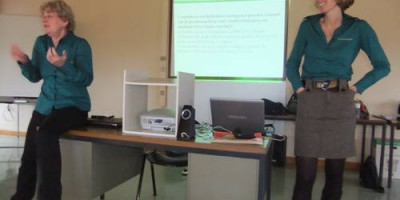18.01.2011 Training of the Gent highway police on the EU animal-protection during transport laws.