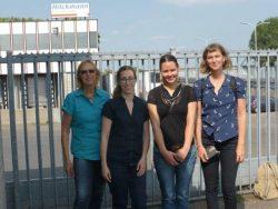 Visit of Hilckmann pig slaughterhouse