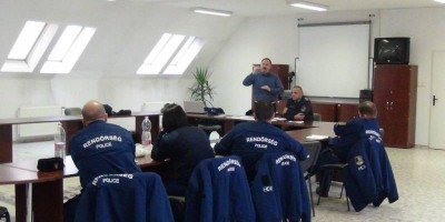 10.12.2015 Police training course in Nagylak, Hungary