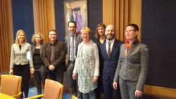 Meeting with Dutch Minister of Agriculture