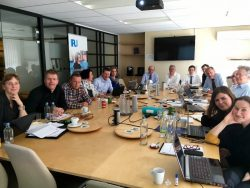 Meeting EU project on animal-welfare during transport