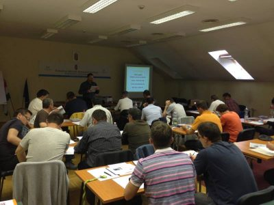 14.04.2016 Training course given to road officials of the Hungarian National Transport Authority