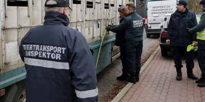 15.11.2016 Training of Road Police in Olsztyn, Poland – practical part