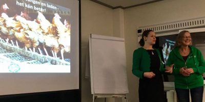 18.01.2017 Eyes on Animals gives a talk at the Organic Food exhibition in Zwolle, NL