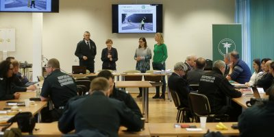 23.02.2017 Training of Official Road Inspectors and veterinarians in Opole, Poland