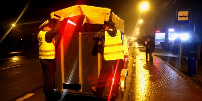 05.03.2017 Polizeitraining – Nächtliche Kontrolle vor dem Pferdemarkt in Skaryszew, Polen