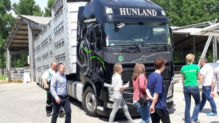 15.05.2017 Schulung Tier-Transportfahrer des Unternehmens Hunland Trans