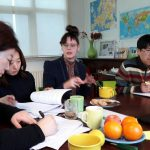Officials from the South Korean Ministry of Food Safety