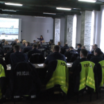 Theory training of highway police
