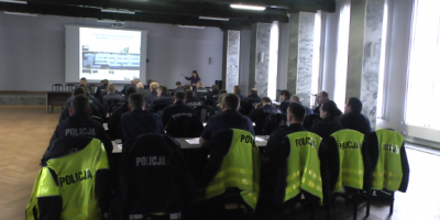 29.01.2018 -31.01.2018 and 01.02.2018 Theory and practical training of highway police, Gdansk