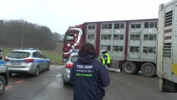 Practical training of highway police