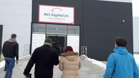 01.03.2018 MCS pig slaughterhouse, Mohacs/Hungary