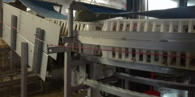 26.03.2018 Poultry slaughterhouse Remkes reduces stress during stunning and transport