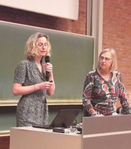 """28.03.2018 Eyes on Animals guest speaker at Leuven University Debate on """"Non-Stun Ritual Slaughter"""", Belgium"""
