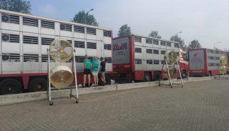 Cooling vans