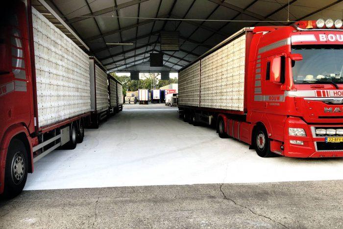 Poultry trucks