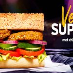 Vegan Supreme Subway.
