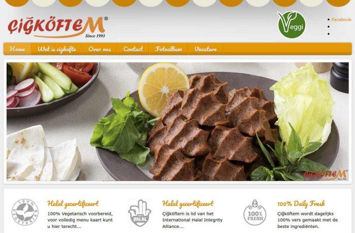 Turkse vegan/vegetarische keten Cigkoftem